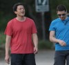 Wentworth Miller spotted wearing a red tshirt as he goes for a hike on April 15th 2010 in Los Angeles 4