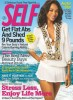 Zoe Saldana photo shoot on the beach side for the May 2010 issue of Self magazine 1