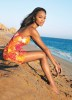 Zoe Saldana photo shoot on the beach side for the May 2010 issue of Self magazine 2