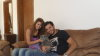 Basel Khoury and Rania Nageeb picture in May 2010 together as they meet after leaving star academy 7th season 2