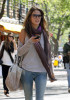 Alessandra Ambrosio picture on April 23rd 2010 as she arrives to brunch at Bar Pitti before shopping at an ATT store 1