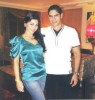 Haifa Wehbe picture with her husband Ahmed abo Hashimah at their house