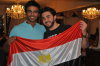 Mahmoud Shokry with Mohamad Ali at his house after he reached back egypt