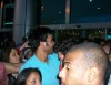 Mahmoud Shokry picture as he reaches Cairo Airport and meets with his fans along with his star academy friend Mohamad Ali