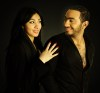 Tamer Hosny high quality poster photo shoot with Mirhan Hussein 3