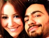 Tamer Hosny and Menna Shalabi photo shoot from the new upcoming movie Noor Aini 3