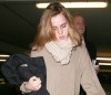Emma Watson spotted on March 26th 2010 as she arrives at Heathrow Airport 3
