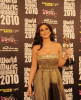 Lebanese singer Elissa with her award during the World Music Awards 2010 at the Sporting Club on May 18th 2010 in Monte Carlo Monaco 2