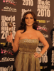 Lebanese singer Elissa with her award during the World Music Awards 2010 at the Sporting Club on May 18th 2010 in Monte Carlo Monaco 1