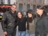 Star Academy season seven students Mohamad Ramadan with Rahma Ahmed and Asmae Mahalawi picture during their visit to Euro Disney after winning the paris trip 13