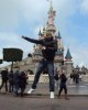 Star Academy season seven student Mohamad Ramadan picture during his visit to Euro Disney after winning the paris trip 7