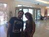Basel Khoury with Rania Naguib from Egypt together