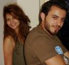 Basel Khoury with Rania Naguib from Egypt standing together