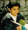 ramy Chmali exclusive photo as a little boy
