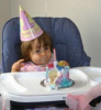 Recent pictures of Nancy Ajrams baby girl Mila during her celebration of her one year old birthday party in May 2010 at her house in Lebanon 1