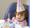 Recent pictures of Nancy Ajrams baby girl Mila during her celebration of her one year old birthday party in May 2010 at her house in Lebanon 3