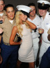 Paris Hilton attends the USO Swinging Salute to our Troops Fleet Week kick off at The Union Square Ballroom on May 26th 2010 in New York City 7