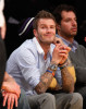 David Beckham attends Game Five of the Western Conference Finals during the 2010 NBA Playoffs at Staples Center on May 27th 2010 in Los Angeles 4