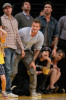 David Beckham attends Game Five of the Western Conference Finals during the 2010 NBA Playoffs at Staples Center on May 27th 2010 in Los Angeles 7