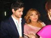 Naseef Zeiton with singer Asala Nasri at the pre finale prime