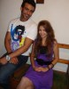 Rania Naguib and Mohamad Ali together in May 2010 after leaving star academy 3