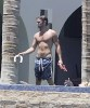 Chace Crawford spotted on May 30th 2010 as he was walking topless under the sun of Mexico  4