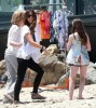 Kate Beckinsale spotted on June 1st 2010 as she attends a Memorial Day beach party in Malibu 1