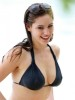Kelly Brook spotted on March 29th 2009 while on the beach in Barbados 3