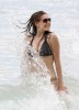 Kelly Brook spotted on March 29th 2009 while on the beach in Barbados 4