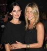 Jennifer Aniston and Courteney Cox attend the 2010 Crystal Lucy Awards and A New Era held on June 1st 2010 at the Hyatt Regency Century Plaza in Calif 2