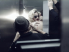 Madonna May 2010 ad photo shoot for her MDG sunglasses line 5