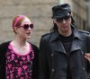 Marilyn Manson visits Evan Rachel Wood on the filming set of Mildred Pierce on May 28th 2010 in New York City 5