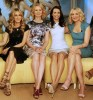 Sarah Jessica Parker along with Kim Cattrall and Kristin Davis and Cynthia Nixon at The View TV Show for promoting their new film Sex and the City 2 on May 28th 2010 in New York City 2