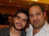 Nassif Zeitoun picture while at the celebration dinner of him being the winner of the 7th season of StarAcademy on June 5th 2010 in Lebanon 2