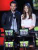 Bradley Cooper and Jessica Biel on stage at the 2010 MTV Movie Awards held at the Gibson Amphitheatre on June 6th 2010 at Universal Studios in California 4
