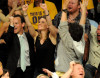 Hilary Swank attends the game 1 of the NBA Finals at the Staples Center on June 3rd 2010 in Los Angeles 2