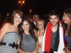 Star Academy 7 final prime after Dinner party picture of nassif Zaytoun with Zena Aftimos