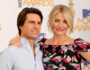 Tom Cruise and Cameron Diaz attend the 2010 MTV Movie Awards held at the Gibson Amphitheatre on June 6th 2010 at Universal Studios in California 1