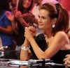 pictrure of the Star Academy 7 prime 16th finale with manager of the academy Madame Rola Saed sitting at the panel of judges and watching the students 3