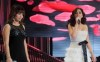 pictrure of the Star Academy 7 prime 16th finale during the performance of singer Elissa on stage singing with Badria Sayed