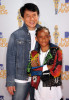 Jaden Smith and Jackie Chan at the 2010 MTV Movie Awards held at the Gibson Amphitheatre on June 6th 2010 at Universal Studios in California 2
