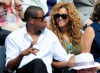 Beyonce Knowles and Jay Z spotted on June 6th 2010 at the Roland Garros 2010 French Open Tennis Tournament in Paris 5
