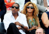 Beyonce Knowles and Jay Z spotted on June 6th 2010 at the Roland Garros 2010 French Open Tennis Tournament in Paris 6