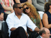 Beyonce Knowles and Jay Z spotted on June 6th 2010 at the Roland Garros 2010 French Open Tennis Tournament in Paris 2