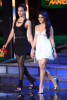Jessica Alba and Vanessa Hudgens speak onstage at the 2010 MTV Movie Awards held at the Gibson Amphitheatre on June 6th 2010 at Universal Studios in California 1