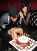 Pete Wentz and his wife Ashlee Simpson spotted celebrating his birthday at Angels and Kings on June  5th 2010 in Los Angeles 3
