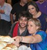 Nassif Zeitoun new photo at the finale prime after party dinner with his mother and Zena Aftimos