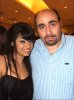 Rahma Ahmed Siba3i picture after star academy season seven at the finale prime dinner party with teacher Osama Rahbani