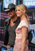 Faith Hill and Tim McGraw together at the 2010 CMT Music Awards at the Bridgestone Arena on June 9th 2010 in Nashville Tennessee 2
