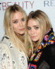 Mary Kate Olsen and Ashley Olsen at the launch of MARKTBeauty at The Penthouse at Smyth Hotel Tribeca on June 8th 2010 in New York City 2